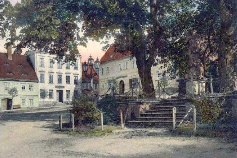 Chełmsko Śląskie na starych pocztówkach