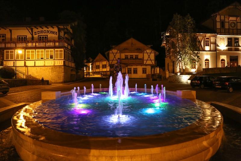 Nocny spacer po Szczawnicy
