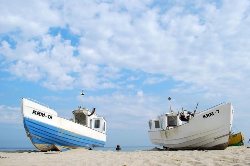 Krynica Morska, człowiek i morze