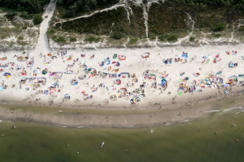 Plaża, morze, słońce, wiatr