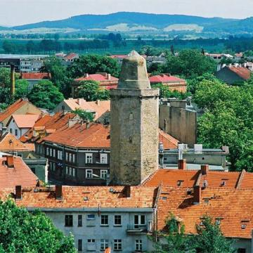 Baszta Strzegomska i mury obronne