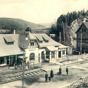 Stacja Kolejowa Jedlina Górna