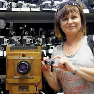 Wystawa aparatów fotograficznych