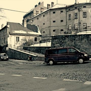 Pozostałości murów miejskich z XVI w.