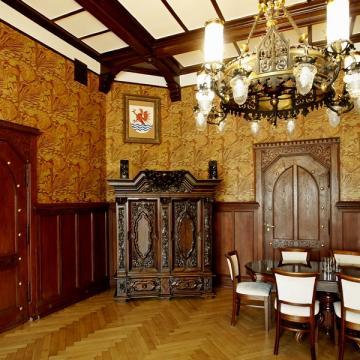 Gabinet Prezydenta i sala Rady Miejskiej