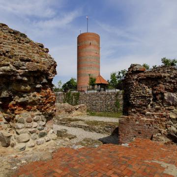 Góra Zamkowa z wieżą Klimek